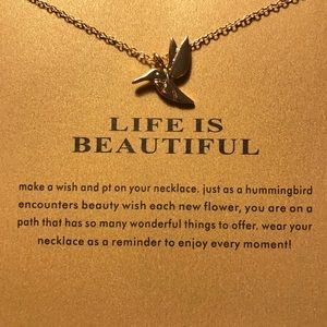 Jewelry - Life is Beautiful Necklace